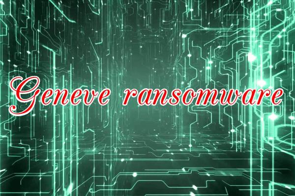 remove Geneve ransomware