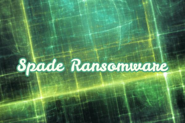 remove Spade ransomware