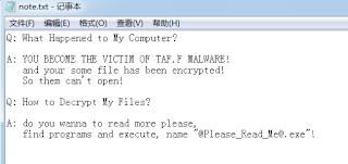 descriptografar arquivos .TapPiF