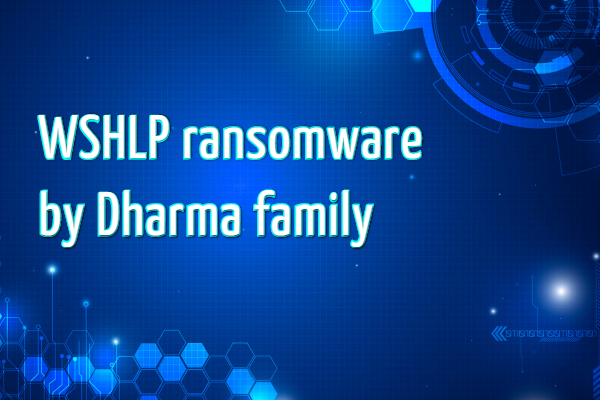 remove WSHLP ransomware