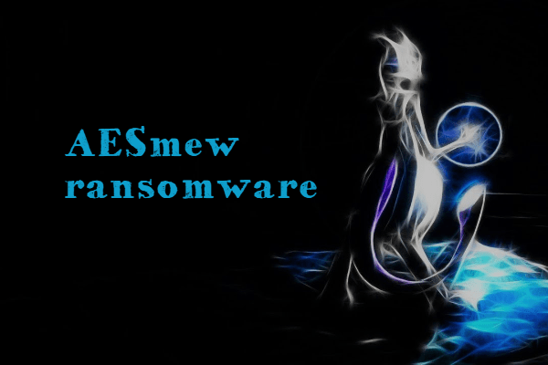 eliminar AESMew ransomware