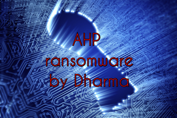 remove AHP ransomware