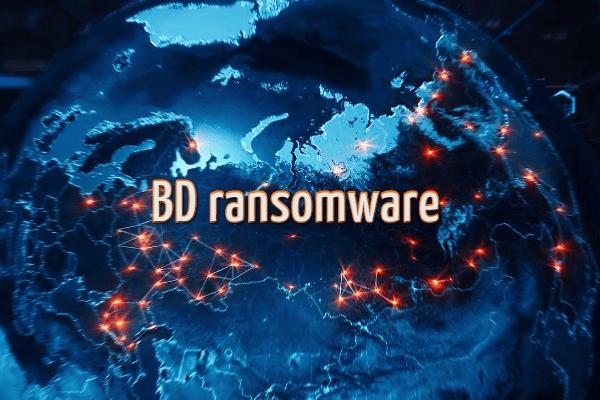 remove BD ransomware