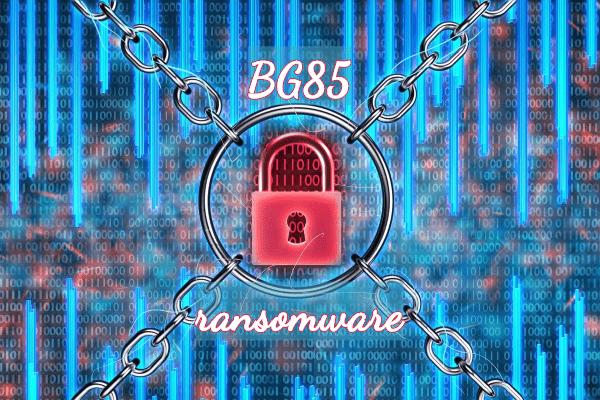remove BG85 ransomware
