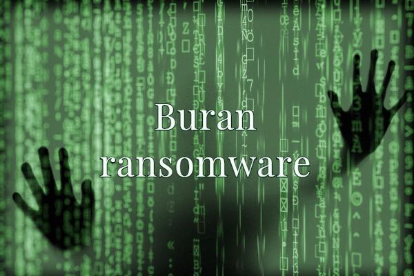 remover Buran ransomware