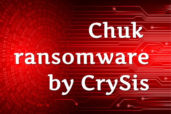 remove Chuk ransomware