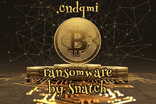 supprimer le ransomware Cndqmi
