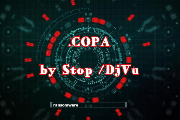 supprimer le ransomware Copa