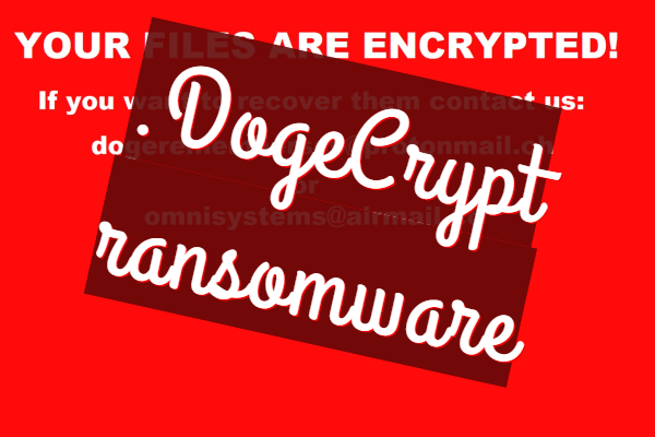 remover DogeCrypt ransomware