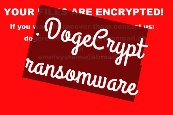Entfernen Sie die DogeCrypt-Ransomware