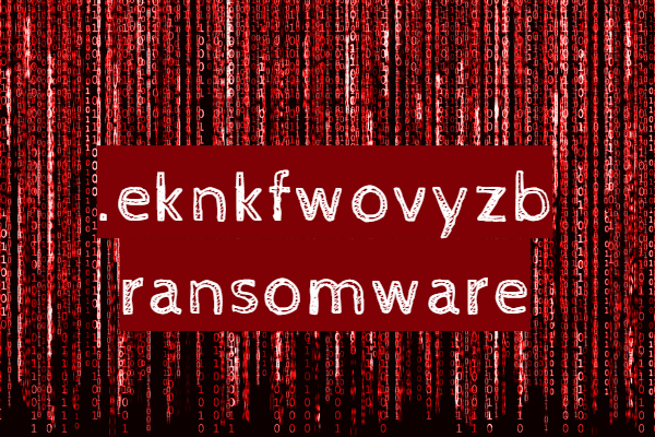 remove Eknkfwovyzb ransomware