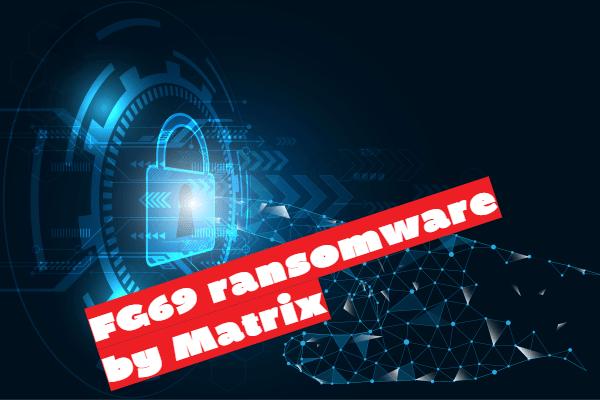 remove FG69 ransomware
