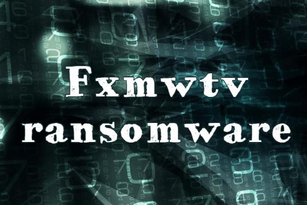 supprimer le ransomware Fxmwtv