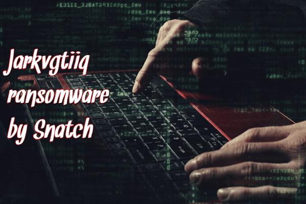 remove Jarkvgtiiq ransomware