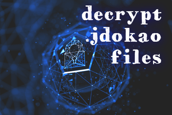 remove Jdokao ransomware