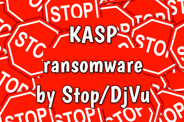 remove Kasp ransomware