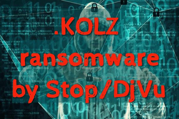 remover Kolz ransomware