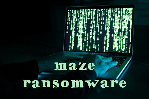 remove Maze ransomware