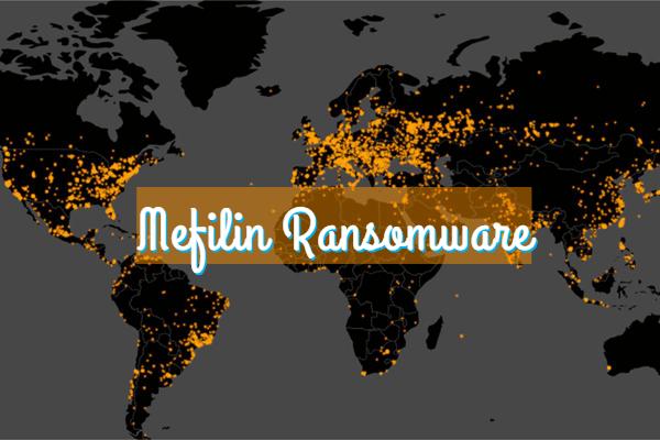 remover o ransomware MEFILIN