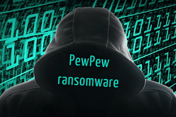 remover PewPew ransomware