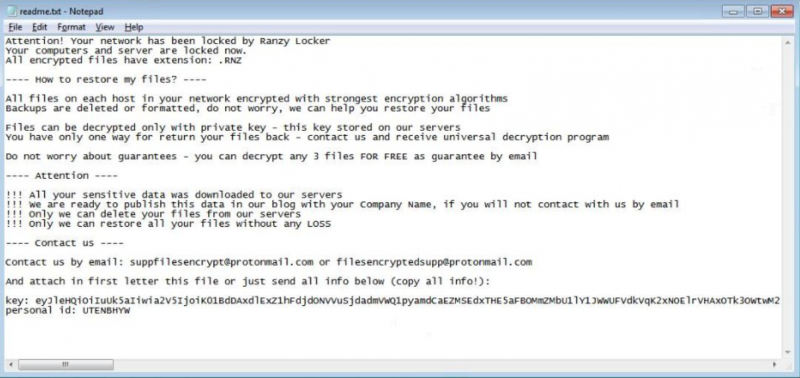decrypt .RanzyLocker files