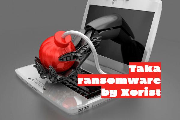 remove TAKA ransomware