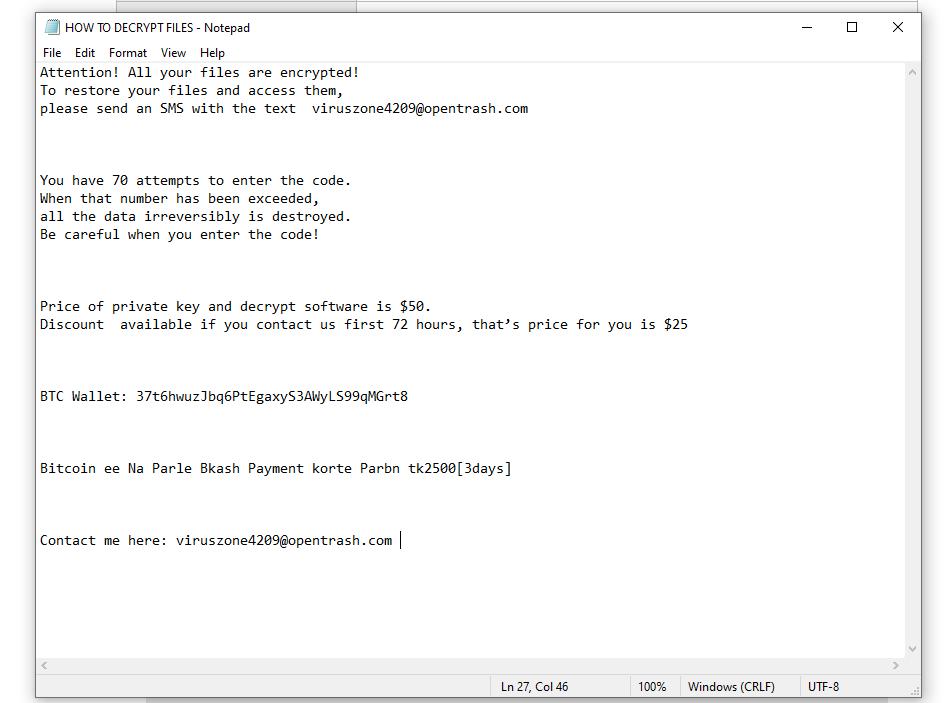 decrypt .taka files