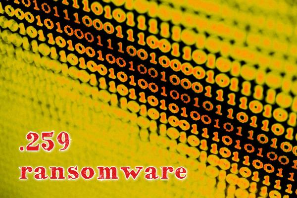 remove .259 ransomware