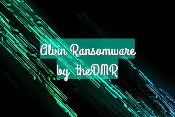 remove ALVIN ransomware