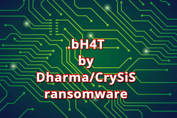 remove bH4T ransomware