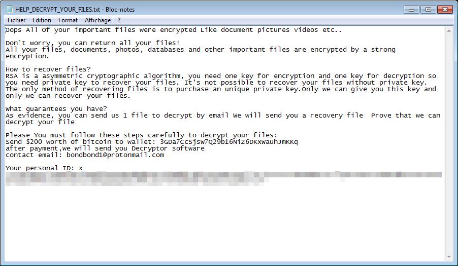 decrypt .Bondy files