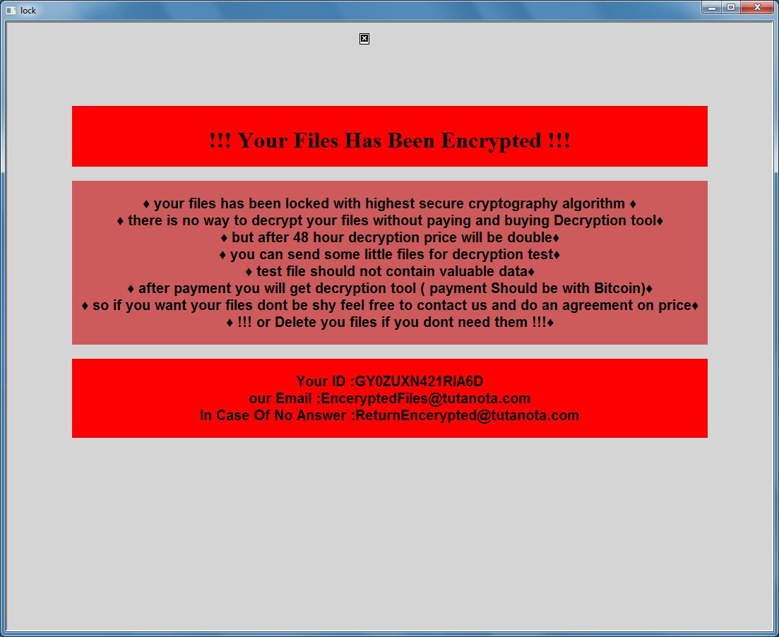 décrypter les fichiers .Chaos