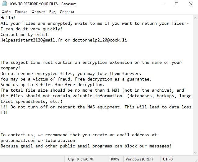 remova o ransomware Clhmotjdxp