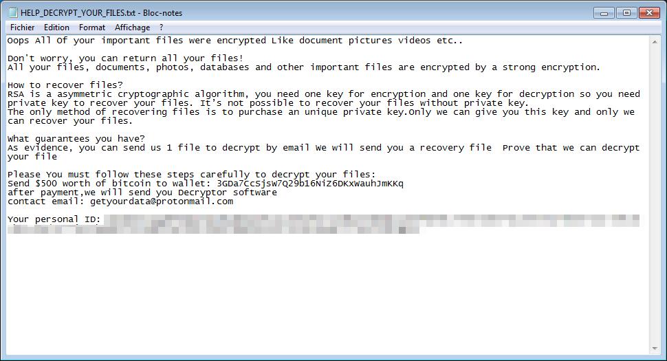 décrypter les fichiers .Connect