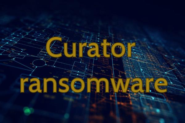 remove CURATOR ransomware
