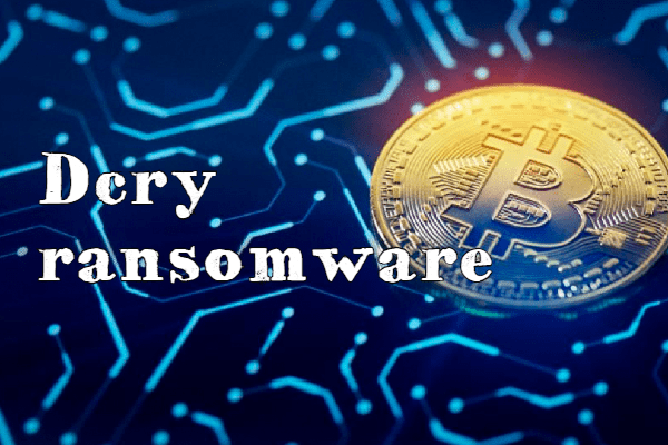 eliminar Dcry ransomware