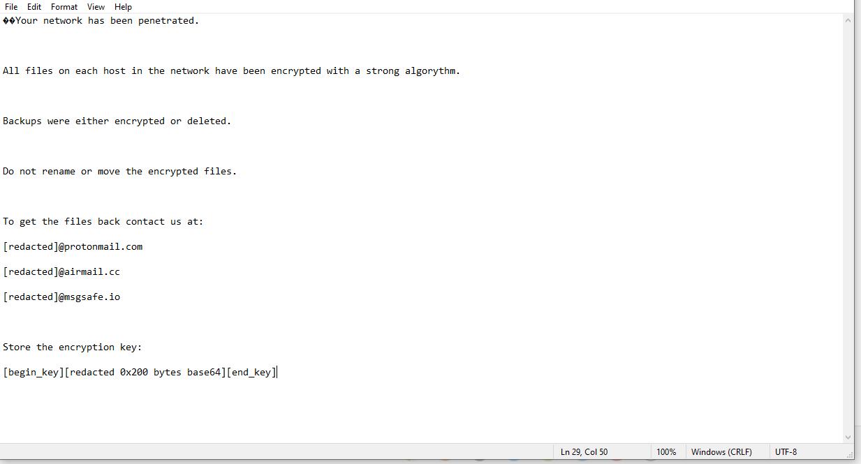 decrypt .locked Dateien