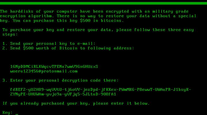 .EYECRY-Dateien entschlüsseln