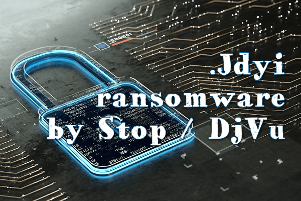 remover Jdyi ransomware