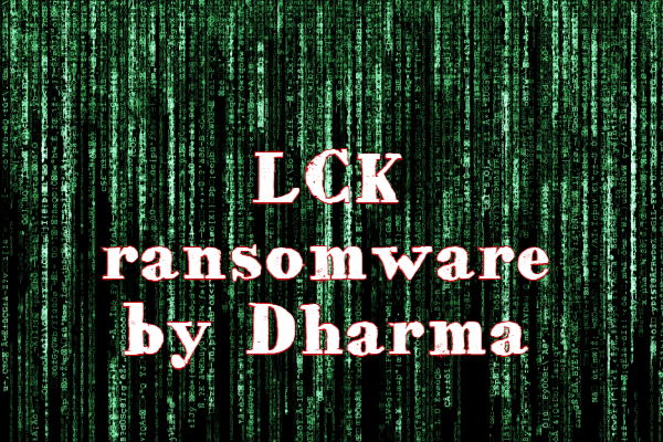 remove LCK ransomware