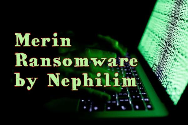 supprimer le ransomware MERIN