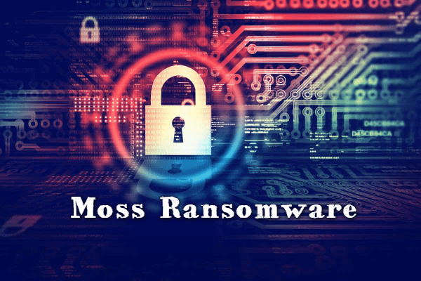 remover Moss ransomware