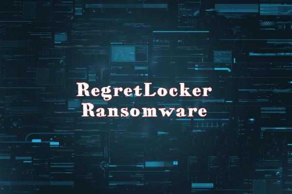 remover RegretLocker ransomware