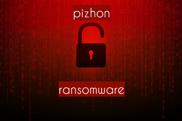 remova o ransomware Pizhon