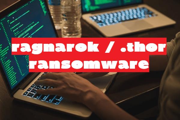 remover o ransomware RAGNAROK