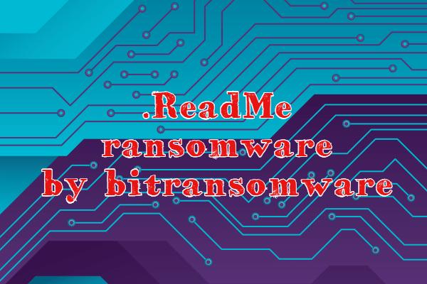 Entfernen Sie .ReadMe Ransomware