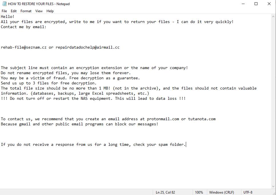 .slfyvggi-Dateien entschlüsseln