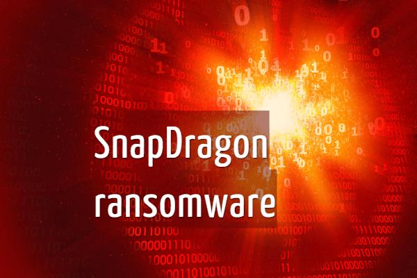 eliminar SnapDragon ransomware