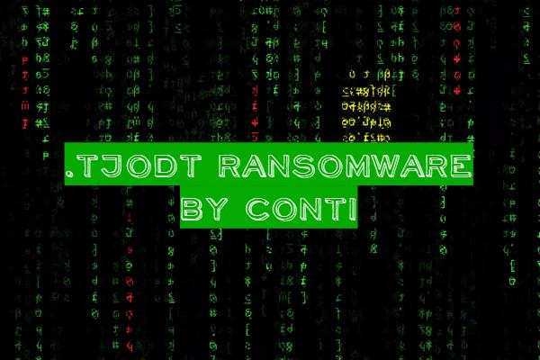 remove TJODT ransomware