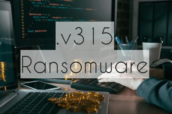 remove v315 ransomware